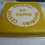 Paxwold 50 years cake